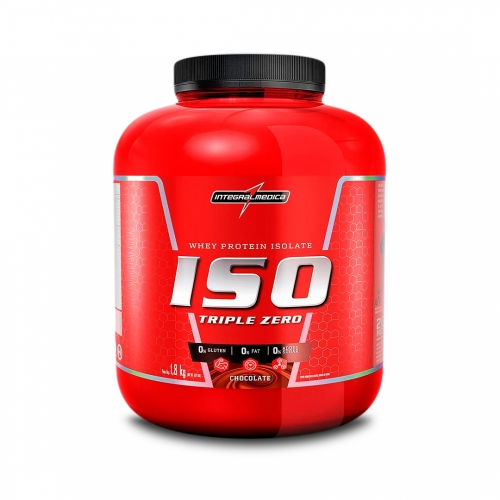Iso whey Triple Zero Sabor Chocolate (1,8kg) - Integralmédica
