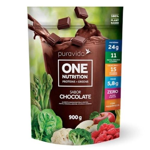 One vegan Sabor Chocolate (900g) - Pura Vida