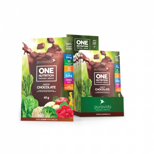 One Nutrition sabor Chocolate (1 Sachê de 45g cada) - Pura Vida