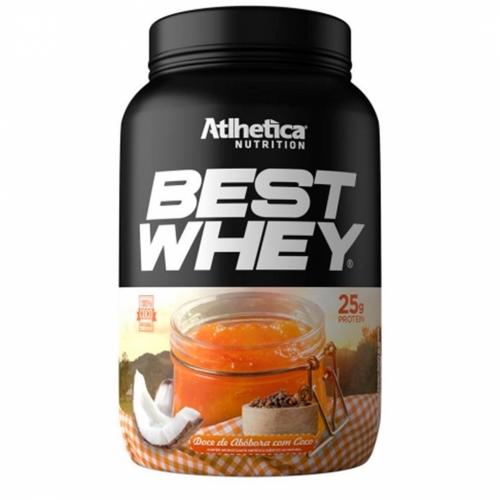 Best Whey Sabor Doce de Abóbora (900g) - Atlhetica Nutrition