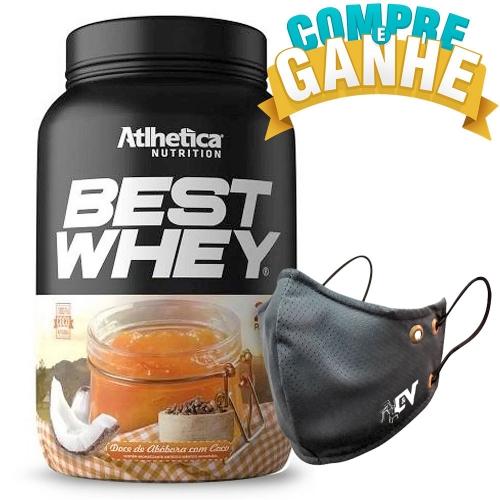 Compre Best Whey Sabor Doce de Abóbora (900g) e Ganhe Camiseta Best Whey - Atlhetica Nutrition