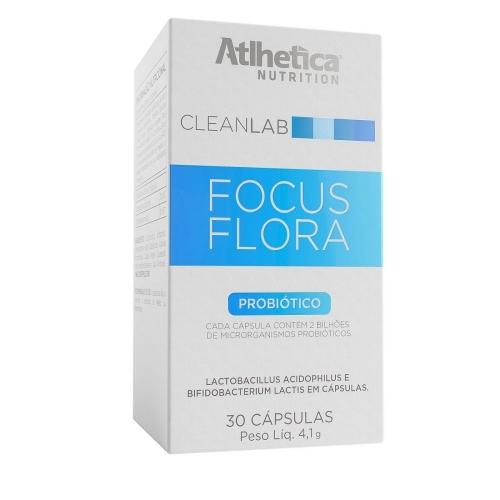 Focus Flora - Cleanlab - (30 Cápsulas) - Atlhetica Nutrition