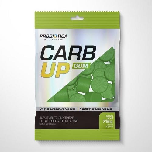 Carb Up GUM Sabor Limão (18 Balas de goma - pack de 72g) - Probiótica