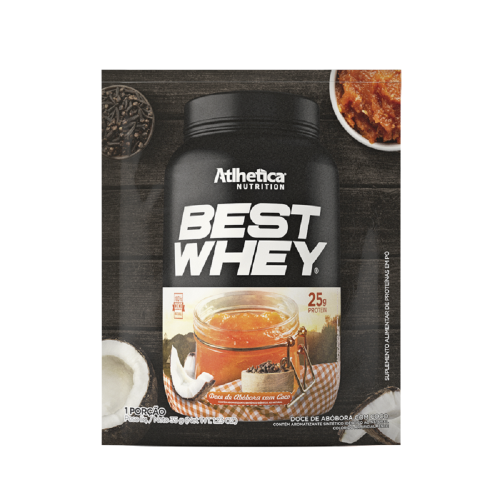 Best Whey Sabor Doce de abobora (35g Sachê) - Atlhetica Nutrition