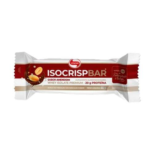 Isocrisp Bar Sabor Amendoim (1 Unidade de 55g) - Vitafor