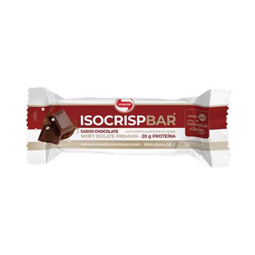 Isocrisp Bar Sabor Chocolate (1 Unidade de 55g) - Vitafor