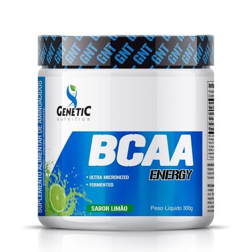 BCAA Energy Sabor Limão (300g) - Genetic Nutrition