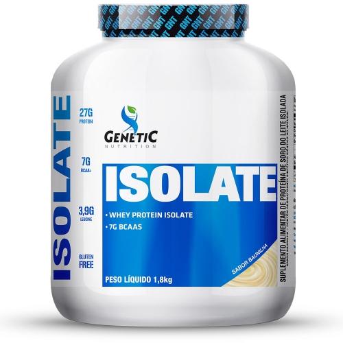 Isolate Sabor Baunilha (1,8kg) - Genetic Nutrition