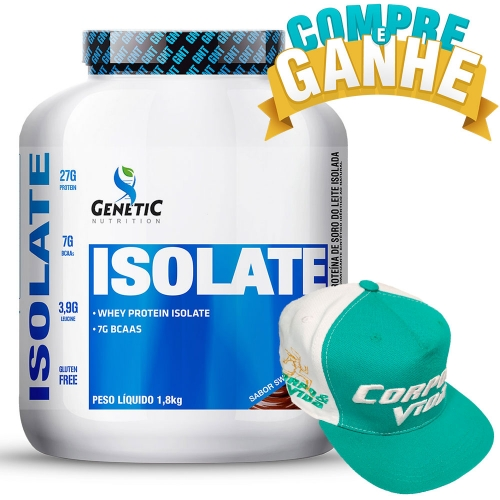 Isolate Sabor Chocolate Swiss (1,8kg) - Genetic Nutrition