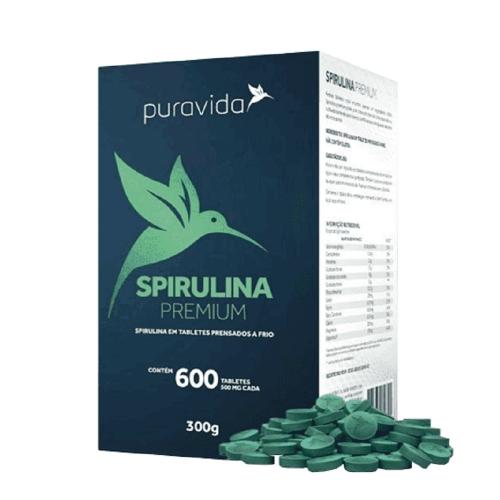 Spirulina Premium (600 Tabletes) - Pura vida