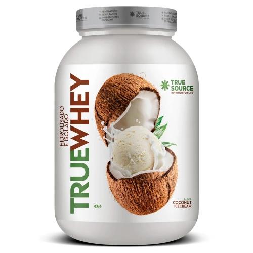 True whey Sabor Coconut Ice Cream (837g) - True Source