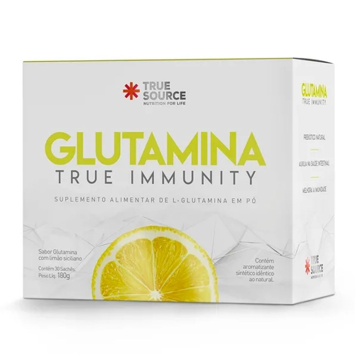 Glutamina (30 Sachês de 6g cada) - True Source