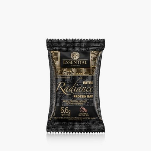 Radiance Bites Gourmet Chocolate (1 Unidade de 23g cada) - Essential Nutrtition