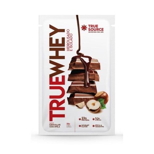True whey sabor chocolate com avelã (1 sachê de 32g) - True Source