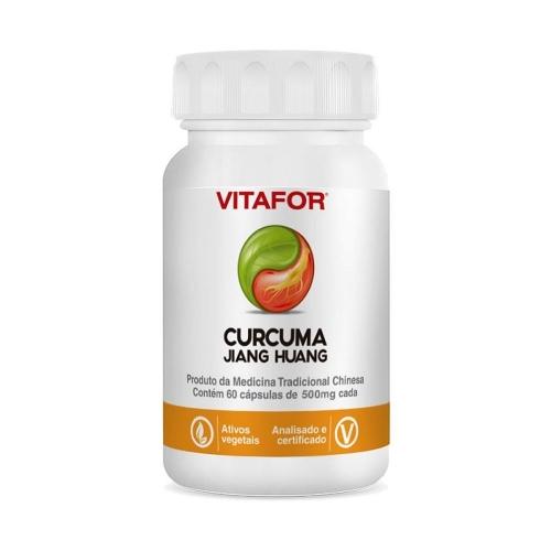 Curcuma (Jiang Huang) 500mg - (30 cápsulas) - Vitafor