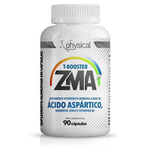 T-Booster ZMA (90 Cápsulas) - Physical Pharma