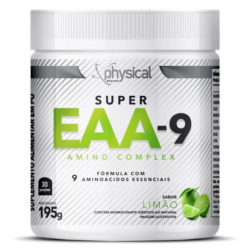 SUPER EAA-9 Sabor Limão (195g) - Physical Pharma