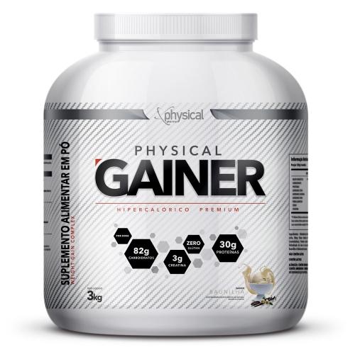 Physical Gainer Sabor Baunilha (3kg) - Phsyical Pharma