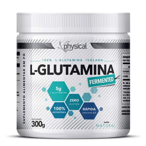 L-Glutamina (300g) - Physical Pharma