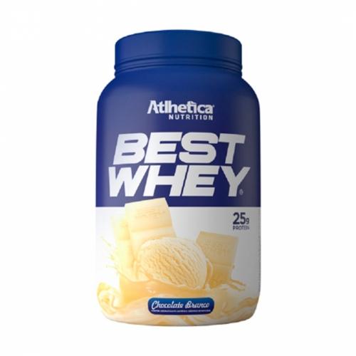 Best Whey Sabor Chocolate Branco (900g) - Atlhetica Nutrition