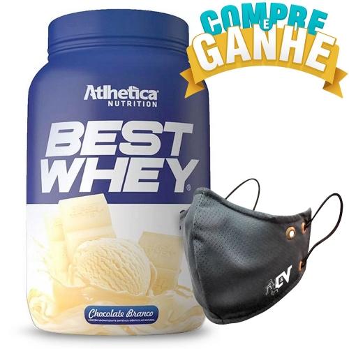 Compre Best Whey Sabor Chocolate Branco (900g) e Ganhe Camiseta Best Whey - Atlhetica Nutrition