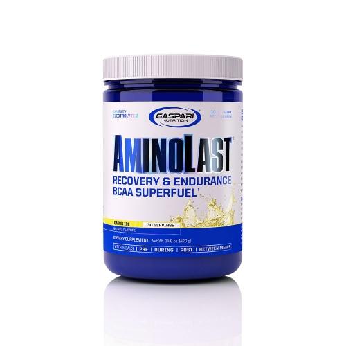 Aminolast Sabor Framboesa e Pêssego (420g) - Gaspari Nutrition