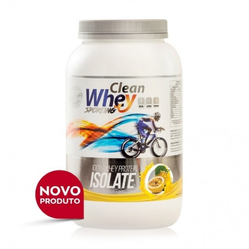Clean Whey Isolada - 900g - Maracujá