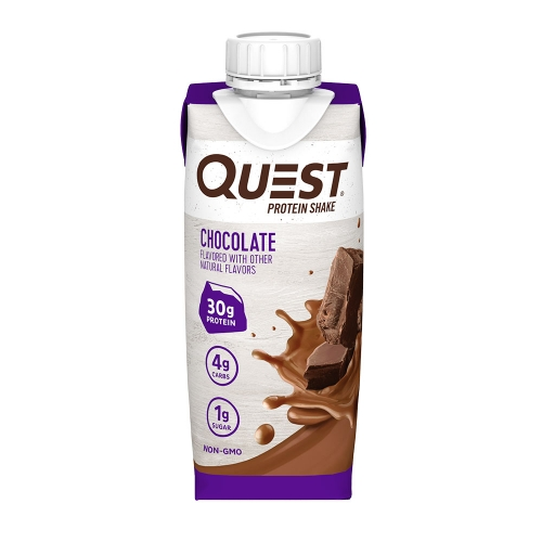Quest Protein Shake Sabor Chocolate (1 unidade de 325ml) RTD - Quest Nutrition