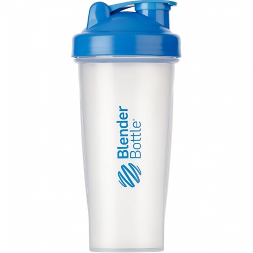 Coqueteleira Cor Azul Blender Bottle Classic 600ml