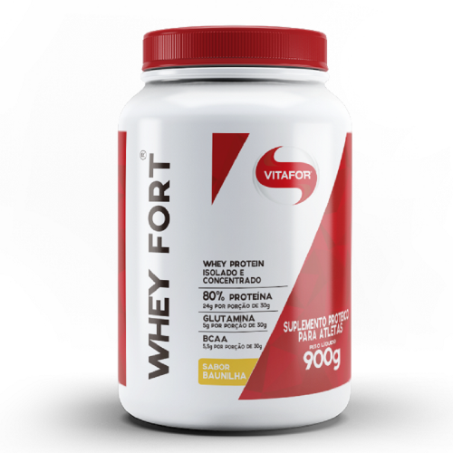 Whey Fort - Vitafor - Banana - 900g