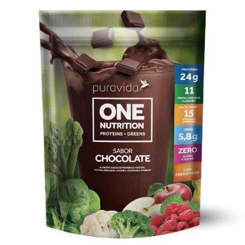 One vegan Nutrition - Chocolate (450g) - Pura Vida