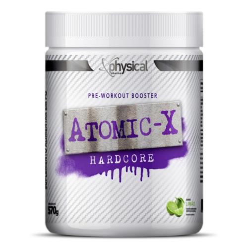 ATOMIC X Hardcore Sabor limão (570g) - Physical Pharma