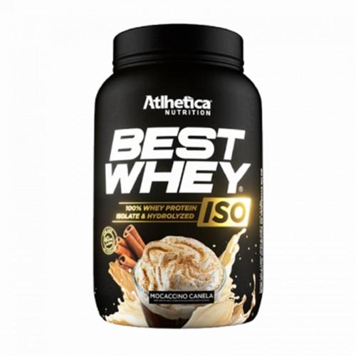 Best Whey Iso Sabor Mocaccino e Canela (900g) - Atlhetica Nutrition
