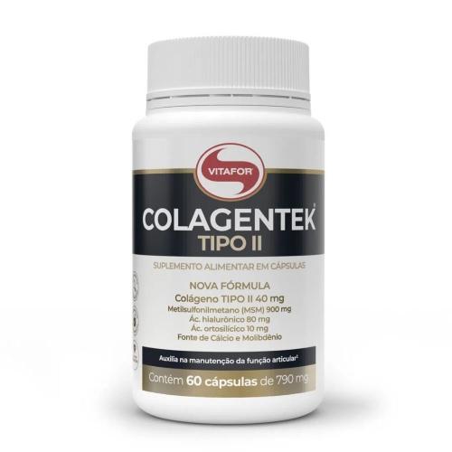 Colagentek II (60 Cápsulas) - Vitafor