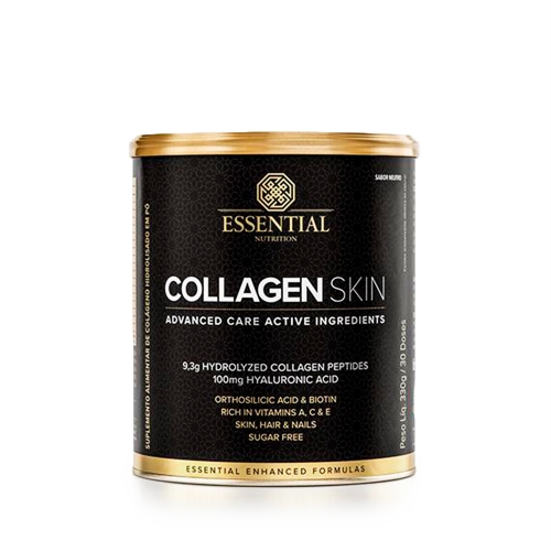 Collagen Skin - Colágeno Hidrolisado (330g) Sabor Neutro - Essential