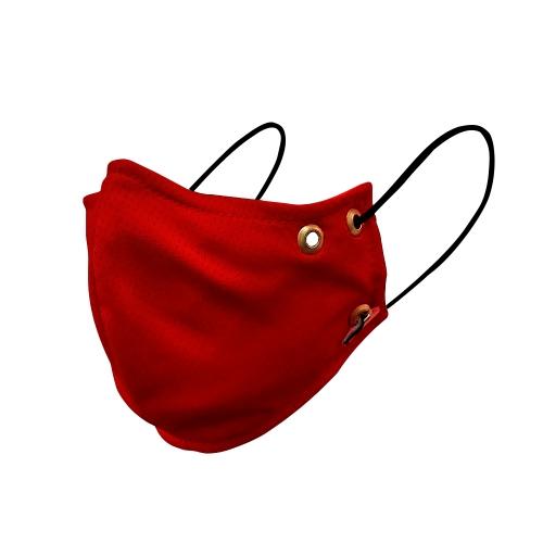 Máscara para Esportes - Dry fit - Vermelha