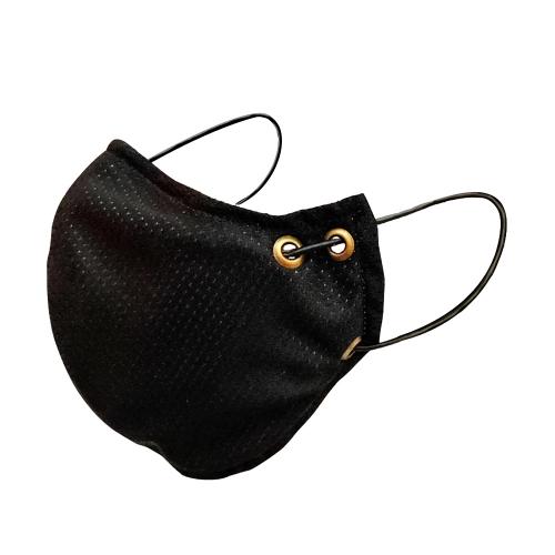 Máscara para Esportes - Dry fit - Preta