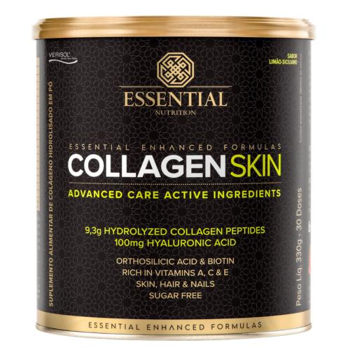 Collagen Skin - Colágeno Hidrolisado (330g) Limão Siciliano - Essential