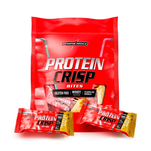 Protein Crisp Bites Sabor Trufa de Avelã (375g) Refil - Integralmédica