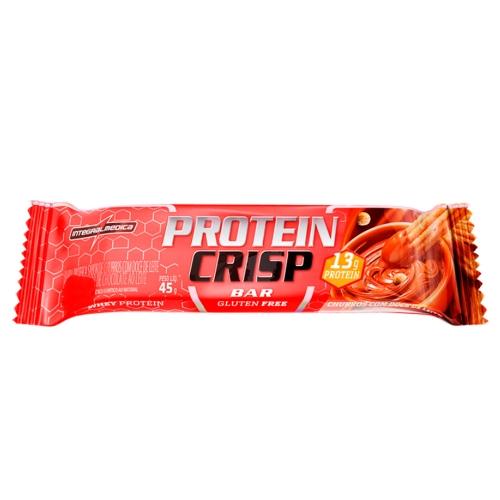 Protein Crisp Bar Sabor Churros com Doce de Leite (1 Unidade de 45g) - Integralmédica