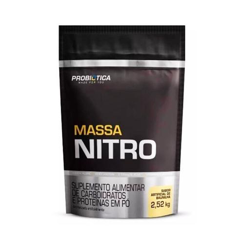 Massa Nitro sabor Baunilha (2,52Kg) - Probiótica