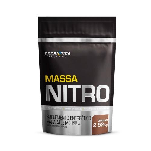 Massa Nitro sabor Chocolate (2,52Kg) - Probiótica