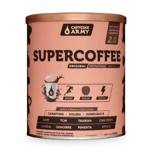 SuperCoffee 2.0 Sabor Tradicional (220g) - Caffeine Army