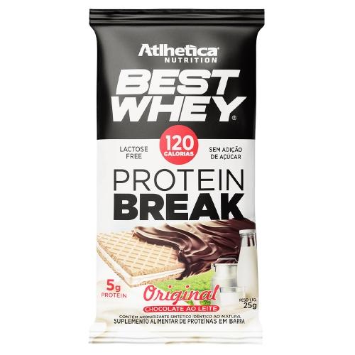 Best Whey Protein Break sabor Original (1 unidade de 25g) - Atlhetica Nutrition