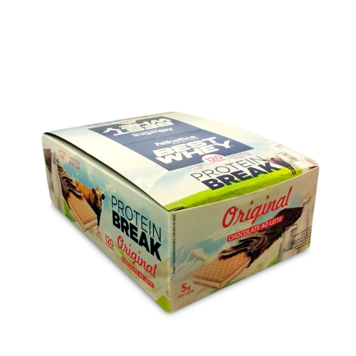 Best Whey Protein Break sabor Original (Cx. 12 unidades de 25g) - Atlhetica Nutrition