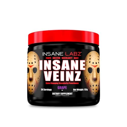 Insane Veinz Sabor Uva (151g) - Insane Labz