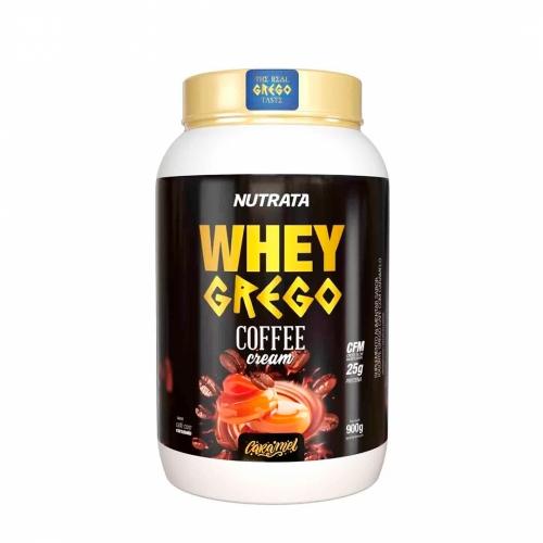 Whey Grego Coffe Sabor Caramelo (900g) - Nutrata