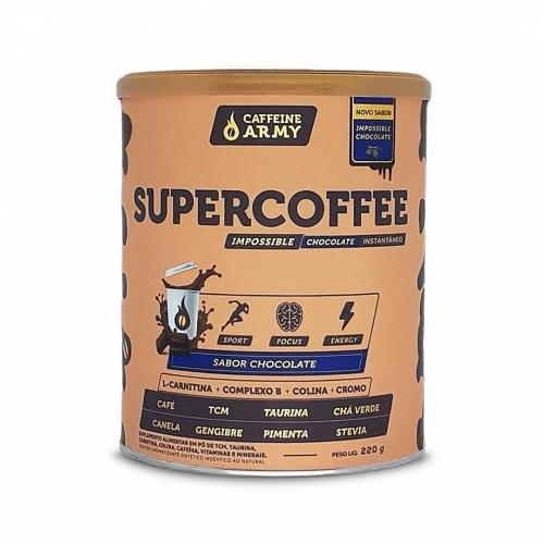 Super Coffe 2.0 Sabor Chocolate (220g) - Caffeine Army