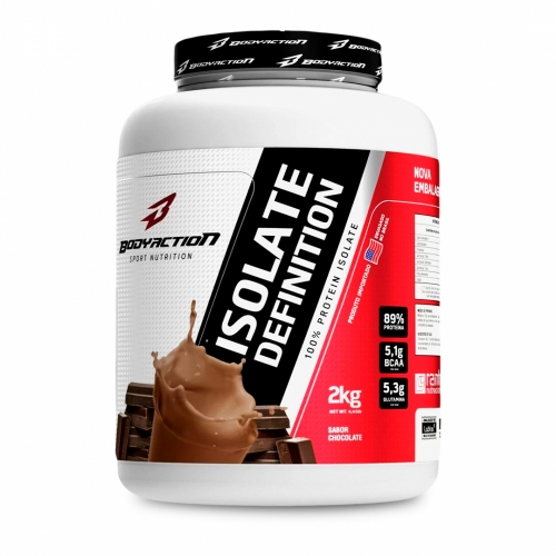 Isolate Definition Sabor Chocolate (2Kg) - Body Action