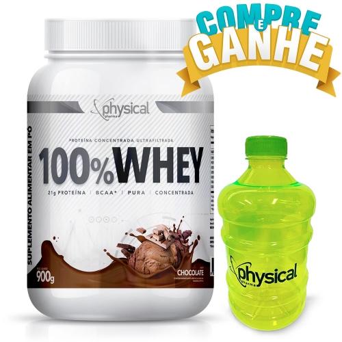 100% Whey Sabor Chocolate (900g) - Physical Pharma